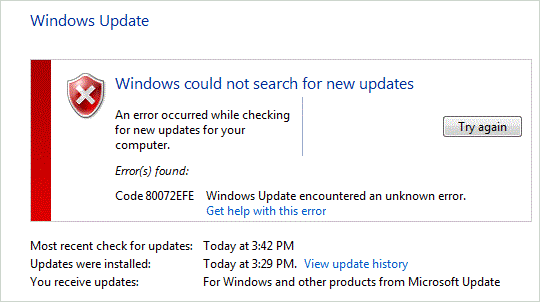 80072efe windows update error